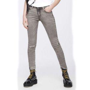Diesel Slandy gray wash super slim- skinny jeans